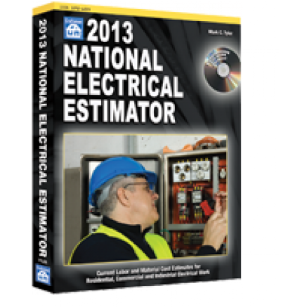 2013 National Electrical Estimator Book With Cd Rom
