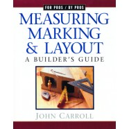 Measuring, Marking & Layout