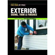 Taunton's for Pros By Pros: Exterior Siding, Trim, and Finishes