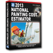 2013 National Painting Cost Estimator