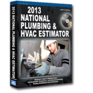 2013 National Plumbing & HVAC Estimator